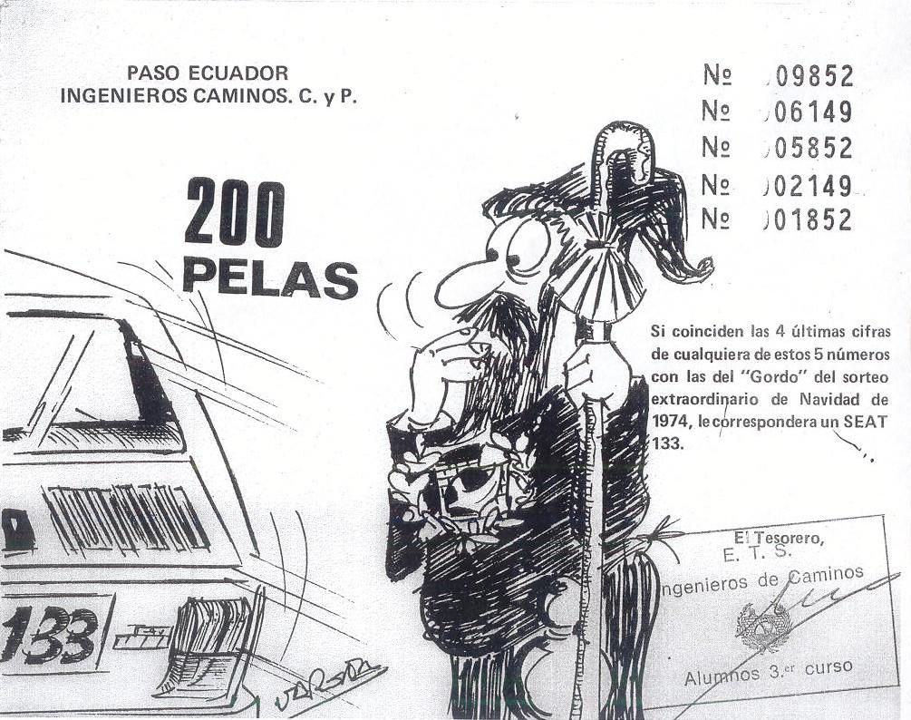 caminos 77  ingenieros de caminos promoci u00f3n 1977